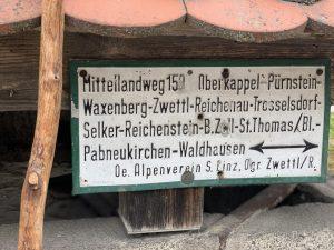 Mittellandweg Tafel